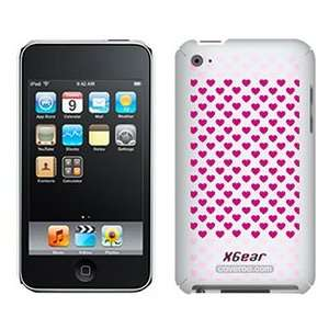 Lots O Hearts Pink on iPod Touch 4G XGear Shell Case