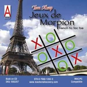 Jeux De Morpion (French Tic Tac Toe) Book on CD Teachers