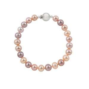 with 14K White Gold Ball Clasp in Gift Box pearlzzz Jewelry