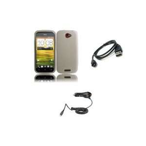 Case Cover + Car Charger + Micro USB Data Cable + Zombeez Key Tag