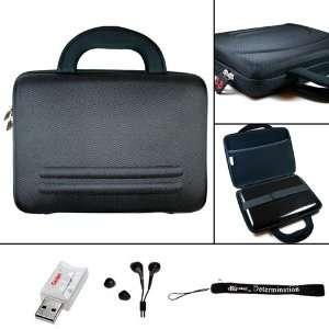 Black Hard Nylon Shell Case for Acer Aspire One AO532h