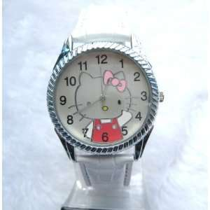 Miss Peggy Jos ~Big Hello Kitty Jw364 Round Shape Quartz Watch