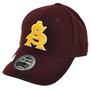 State Sun Devils ASU NCAA Premier Collection One Fit Cap Hat Large