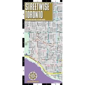 Street Map of Toronto, Canada (Streetwise (Streetwise Maps)) [Map