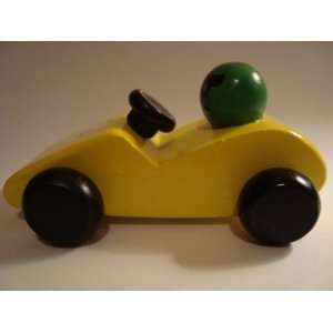 Race Car Yellow Toys & Games