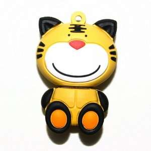 4G USB 2.0 Cartoon Tiger Flash Memory Drive Stick 4GB
