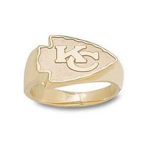 Logo Mens Ring   14KT Gold Jewelry (Size 10 1/2)