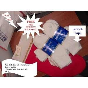 Diabetic Socks, Lower Cut, Golf Style MEN XL, Size 13 15