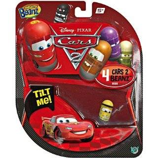 Mighty Beanz Disney CARS Starter Pack Set 4 Beanz