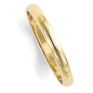 2.5 Millimeters Yellow Gold Heavy Wedding Band Ring 18kt