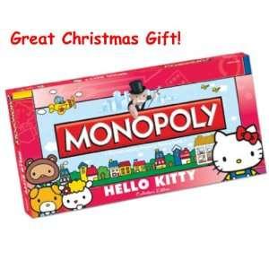 Christmas Gift Monopoly Hello Kitty Collectors Edition