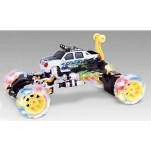 Monster Rolling RC Remote Control Car Toy Lights Up Music