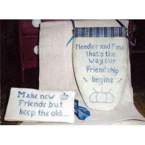 Needles And Pins   Cross Stitch Pattern Arts, Crafts