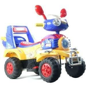 EZ Riders HL819 6 Battery Operated 4 Wheel Vehicle Blue
