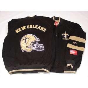 New Orleans Saints NFL G III Leather Suede Jacket, Medium