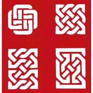 CELTIC STENCIL Snazaroo Face Painting Stencil Toys & Games