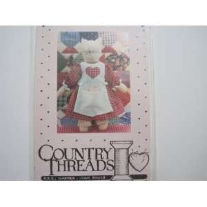 Country Threads Craft Pattern #118 Allie Cat Mary Tendall