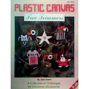 Plastic Canvas Tree Trimmers A Collection of 14 Designs for Christmas