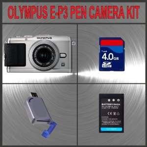 Lithium Ion Battery + Hi Speed SD Card Reader + Kit