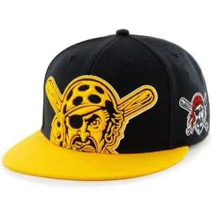 Pittsburgh Pirates MLB 47 Brand Two Tone Blackout Colossal