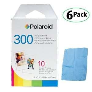 Polaroid PIF 300 Instant Film for 300 Series Cameras  6 Packs + DBROTH