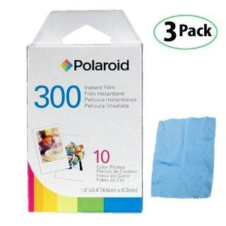 4 Pack Of Polaroid PIF 300 Instant Film for 300 Series