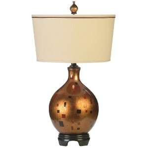 Cypress Point Windows Porcelain Table Lamp