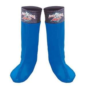 Power Ranger Blue Boot Covers Toys & Games