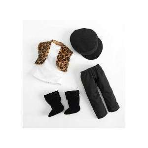 Journey Girls 18 Inch Doll Clothes   Leopard Vest Toys & Games