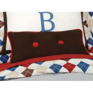 Chocolate Corduroy Lumbar Pillow: Home & Kitchen