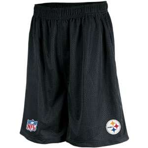 Reebok Pittsburgh Steelers Coaches Mesh Short Size Large