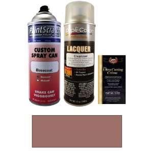 12.5 Oz. Medium Rosewood Metallic Spray Can Paint Kit for 1989 Pontiac