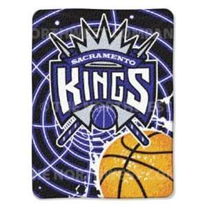 NBA 60 x 80 Super Plush Throw   Sacramento Kings   Los Angeles Kings