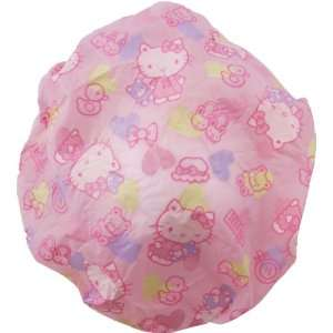 Hello Kitty Pastel Pink Shower Cap