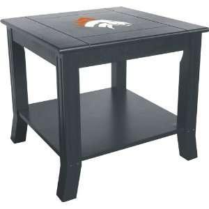 Denver Broncos Living Room/Office End/Side Table