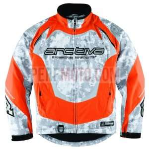 ARCTIVA COMP 5 SNOWMOBILE JACKET ORANGE CAMO 3XL