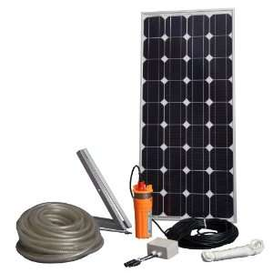 Sunforce 82328 80W Solar Submersible Water Pump Kit