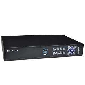16 Channel Standalone Network DVR Surveillance Kit w