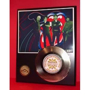Rolling Stones 24kt Gold Record LTD Edition Display ***FREE PRIORITY
