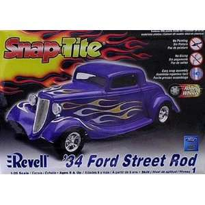 1934 Ford Street Rod Snap Kit by Revell Toys & Games