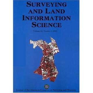 Surveying and Land Information Science:  Magazines