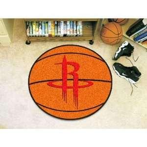 Houston Rockets NBA Basketball Mat (29 diameter) Sports