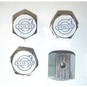 VOLVO Anti theft Car Wheel Tire Valve Stem Caps Automotive