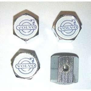 VOLVO Anti theft Car Wheel Tire Valve Stem Caps Automotive