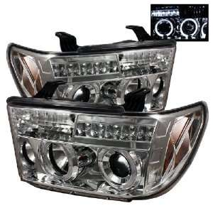 Auto Toyota Tundra Chrome Halogen Projector Headlight Automotive