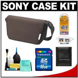Sony Alpha LCS MS10 Digital SLR Camera Soft Case Messenger