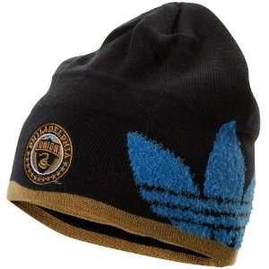 World Cup adidas Philadelphia Union Cuffless Knit Beanie   Navy Blue