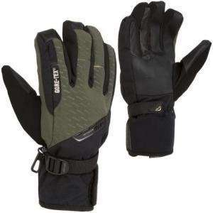 Drop Rerun System Short Mens Snowboard Glove (OLive/Black) Size Small