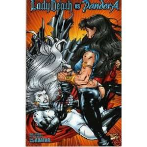 Lady Death vs Pandora Issue 1 Cat Fight Cover Ltd to 750