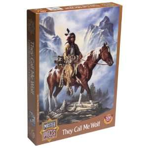 They Call Me Wolf Jigsaw Puzzle 550pc Toys & Games